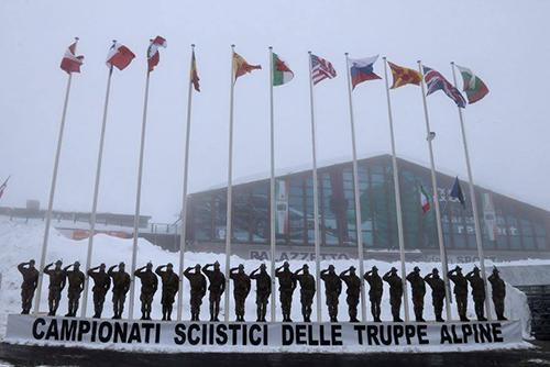 Bandiere istituzionali per eventi sportivi