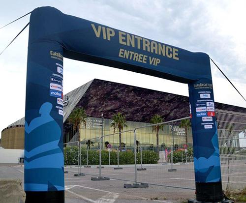 Arco Gonfiabile per eventi sportivi