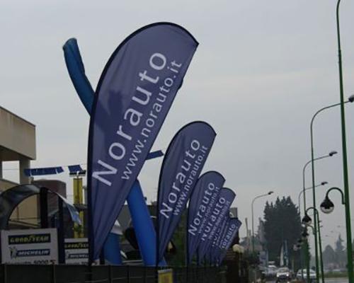 Bandiere per concessionarie auto