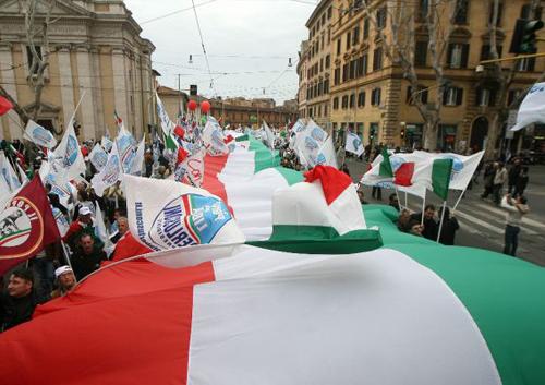 bandiere personalizzate organizzazioni sindacali