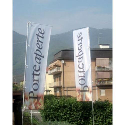 Bandiere pubblicitarie grande formato