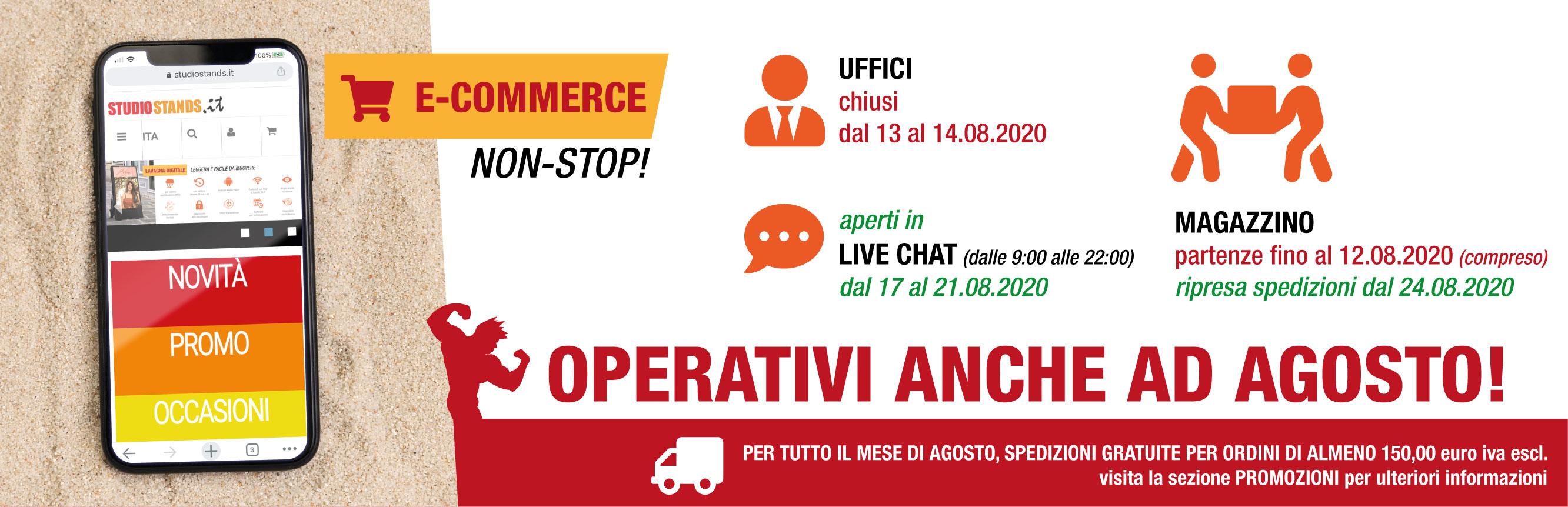 e-commerce non-stop