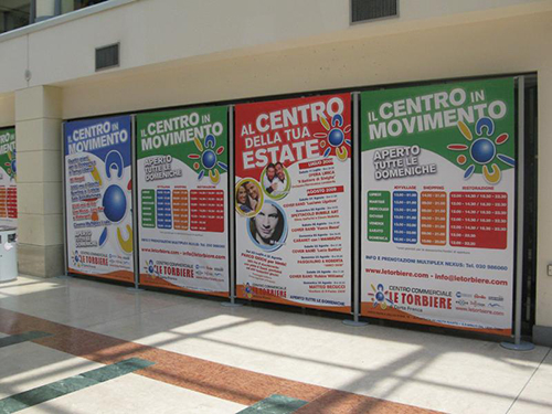 Espositore banner display