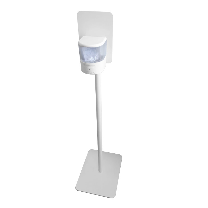 colonnina con dispenser automatico white