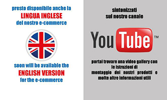 Nuovo e commerce inglese - Visita il nostro canale Youtube