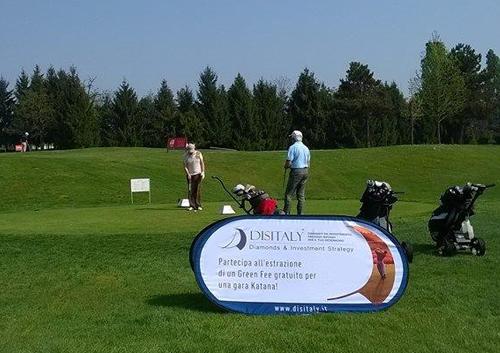Espositore Flexo per campi da golf
