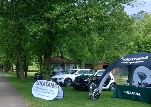 Espositori promozionali a Golf Club Lecco