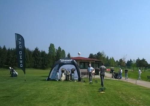 Gazebo Gonfiabile presso Golf Club Milano