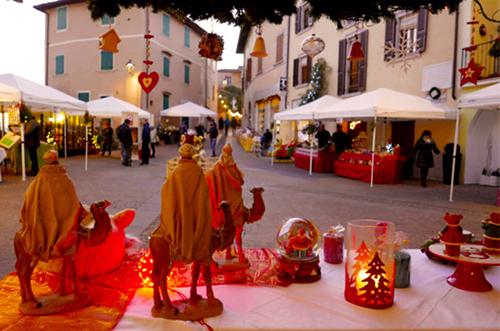 Gazebo per mercatini natalizi