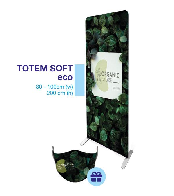 totem soft eco - mask light in omaggio
