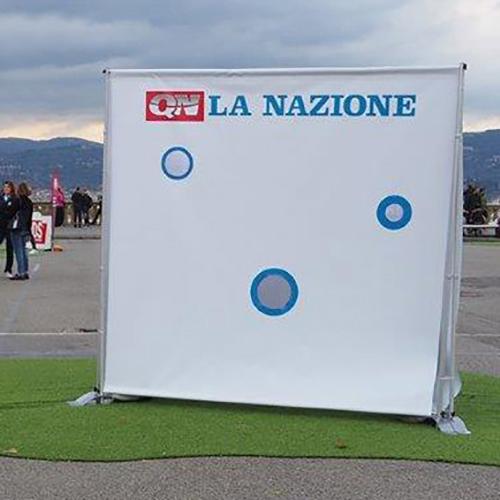 Fondale Quinta per eventi sportivi a Firenze