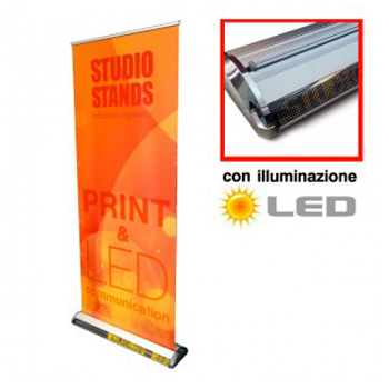 Roll Up Display LED