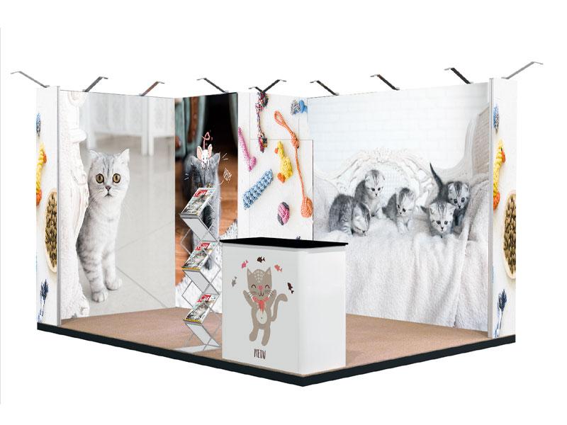stand portatile textile frame MALIBU