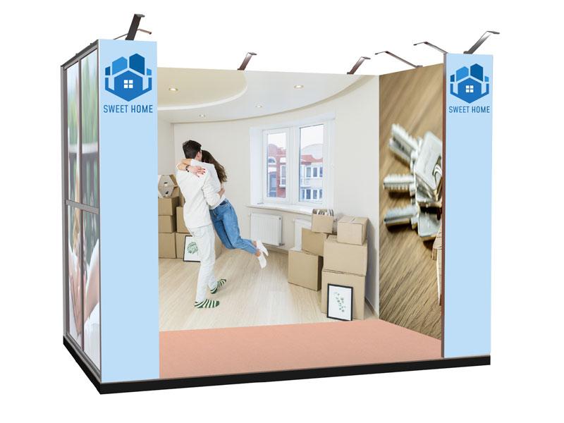 stand portatile textile frame TOKIO