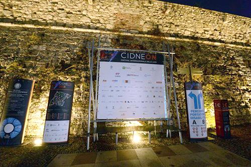 Espositori promozionali festival CidneOn 2018