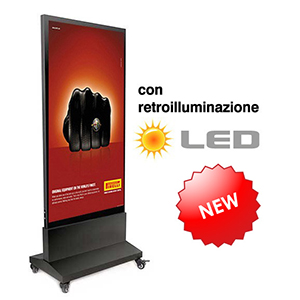 Nuovo Prodotto Totem Luminoso a LED