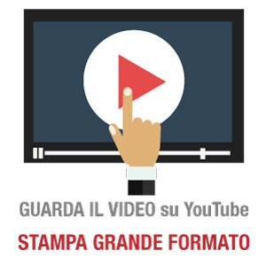 YouTube Video Stampa Grande Formato