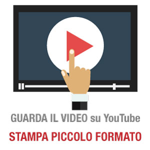 YouTube Video Stampa Piccolo Formato