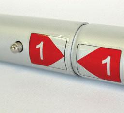 tubolari numerati per facile montaggio